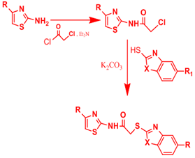 Synthesis Of New Thiazole And Thiazolyl Derivatives Of